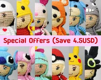 Special offer : Crochet pattern of Little key chain
