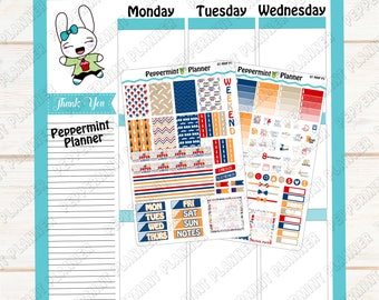 Father's Day Weekly Kit --- Planner Stickers --- A La Carte --- Will fit your MHP --- MHP07