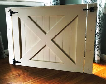 pet security gate barn door baby gate made to fit barn door pet