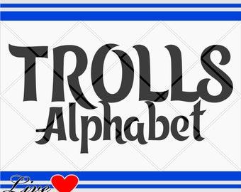 trolls svg, alphabet letters, svg fonts, disney svg, disney alphabet, trolls alphabet, font, barbie party,trolls font, trolls dxf, trolls