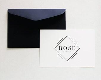 Minimalist Logo, Pre Made Logo, Minimalist Branding, Fashion Logo, Chic Logo, Minimal Logo, Fashion Branding, Simple Logo, Modern Logo