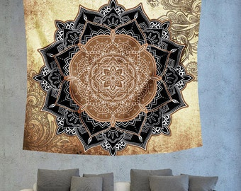 Boho wall tapestry,Large wall tapestry,Bohemian tapestry,Mandala Tapestry,Mandala Wall Art,Boho tapestry,Psychedelic tapestry,wall tapestry