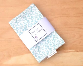 Floral burp cloths gift set, 2 baby burp cloths, new baby or  baby shower gift