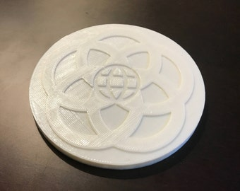 EPCOT Center Inspired Coaster