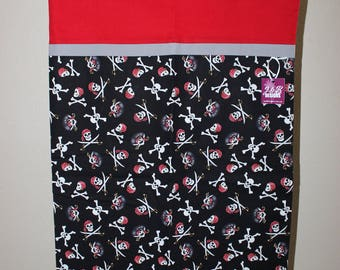 Trick or Treat Bag (Skull and Cross Bones Pillowcase)