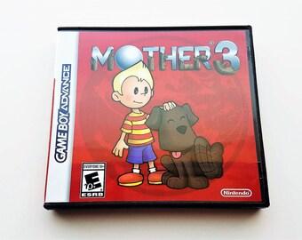 Mother 3 (Case + Game) English Fan Translation - Earthbound  Nintendo Game Boy Advance GBA Custom Cart