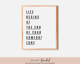 Inspirational Wall Art, Quote Wall Art, Motivational Wall Decor, Typography Print, Quote Print, Printable Wall Art, Inspirational Quote