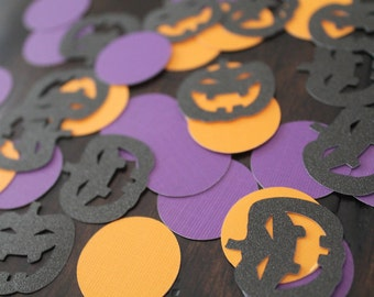 Halloween confetti | Halloween decorations | Halloween jack o lantern decorations | Halloween party decorations