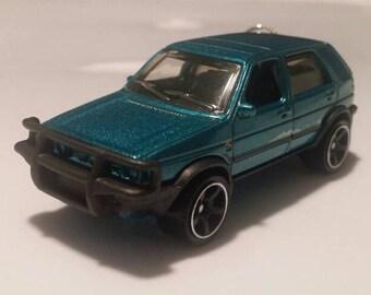 1990 Volkswagen Golf Country car keychain gift