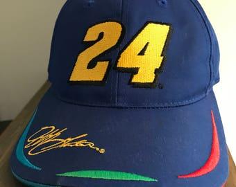 NASCAR #24 Jeff Gordon Snap Back Baseball Hat