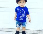 Baby dino shirt, Baby shirt, customizable shirt, name shirt, dinosaur shirt, personalized dino shirt, dino name shirt, baby shower gift