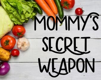Mommy's Secret Weapon Instant Pot Decal / Pressure Cooker Decal