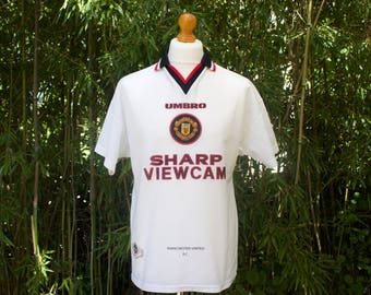UMBRO X MANCHESTER UNITED Away Shirt 1996-97 - Size Medium