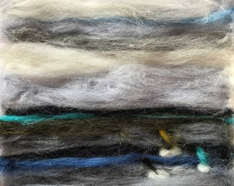 Sailing in Abersoch - Merino Wool - Artwork - Needle Art - Felt - Fibre Art - Mini - Picture - Landscape