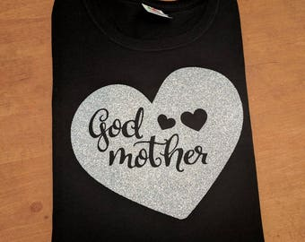 Godmother Shirt - Godmother Gift - Shirt for Godmother - Gift for Godmother - Baby Shower Gift - Baptism - Godmother - Godparent Shirt