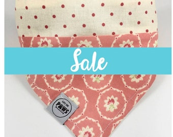 SALE - Pretty in Pink Slip On Bandana