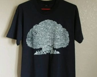 1989 Family Tree of British Rock - Super Cool Vintage T-Shirt