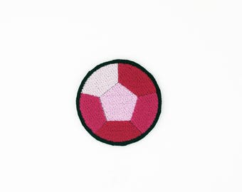 Rose Quartz Patch, Steven Universe Patch, Crystal Gem Patch, Steven Universe Pin, Iron On Rose Quartz Patch, Rose Quartz Pin