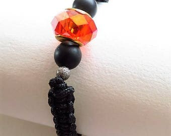 Braided bracelet braided 16363