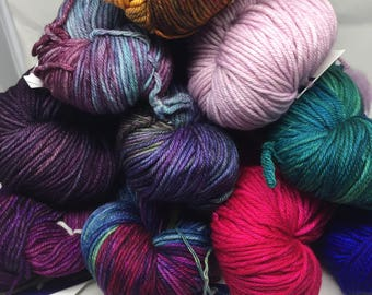 FREE USA SHIPPING Malabrigo Rios Worsted Weight Yarn