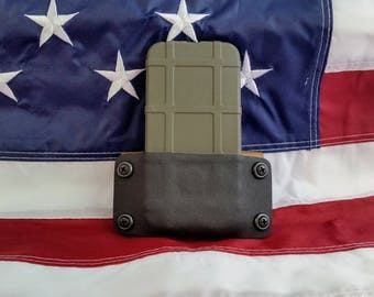 Kydex Cell Phone Holster for I Phone 6 for use with Magpul Field Case (Not Included)