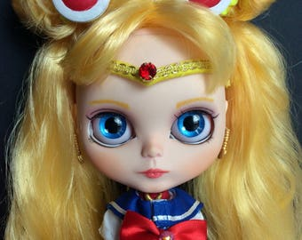 Custom Blythe Sailor Moon doll