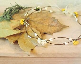 Wreath, flower Tiara, Elfica Tiara, Elfica Crown, crown, tiara, headdress
