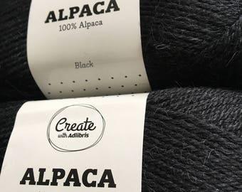 Adlibris 100% Alpaca yarn 3-pack