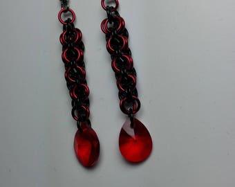 Earrings Swarovski Droplets