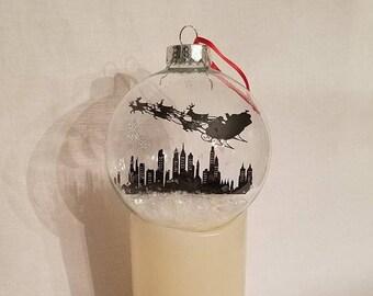 Philadelphia Skyline Floating Ornament