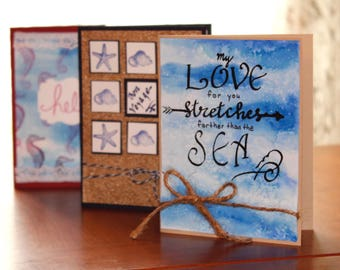 Seaside Collection Greeting Cards