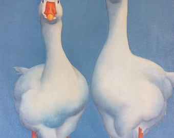 Geese ORIGINAL painting