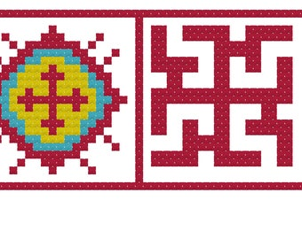 Cross stitch Contemporary embroidery Oberezhnye embroidery counted cross Gifts birthday Health, Removing negativity