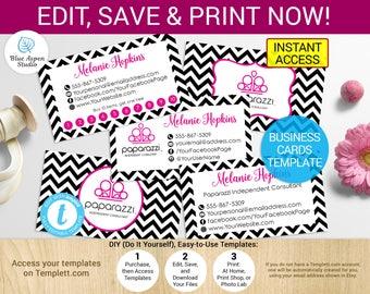 Paparazzi Business Cards Set Printable Paparazzi Cards Paparazzi Template Paparazzi Accessories Paparazzi Marketing Paparazzi Branding Kit