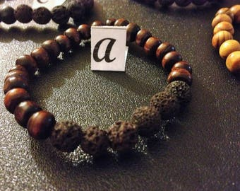 Brown Lava stone jewelry