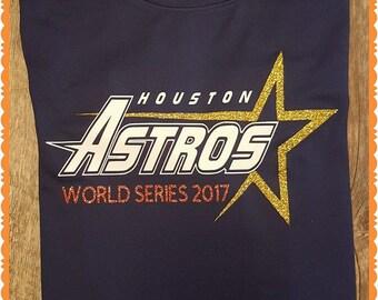 Astros, Baseball, Houston Astros, World Series, Adult, Child or Baby, Boy, Girl, Man or Ladies - Team Shirts