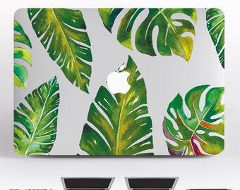 Leaves MacBook Tropical Case MacBook Air 13 Skin Green Hp Cover MacBook Pro Skin MacBook Air 11 Stickers Laptop Case Skin  DRO97