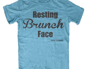 Resting Brunch Face Tee
