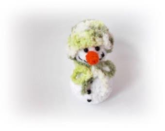 Knit snowman Crochet snowman Christmas Snowman Amigurumi Christmas Ornament christmas decoration crochet amigurumi gifts crochet gifts