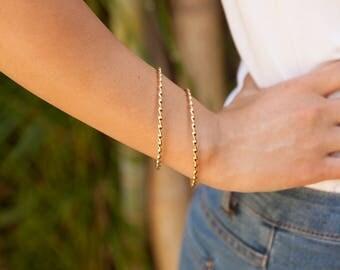 Vintage bracelets set, Womens Bracelet, gold thin bangle bracelet, gold thin bracelet, gold bangle, minimal bangle, Hammered Bracelet