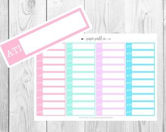 ATI Nursing School Planner Stickers, Planner Stickers