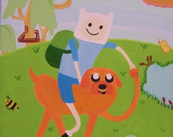 Adventure Time Finn & Jake Canvas