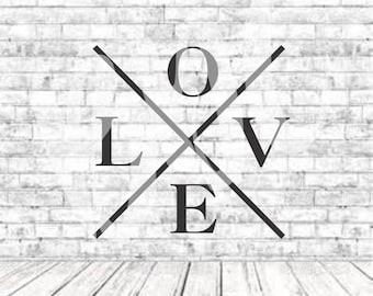 Love, Tribal Love, SVG, PNG, DXF, Vinyl Design, Circut, Cameo, Cut File, Love Cut file, Love Svg, Love Png, Love Decal, Love Shirt, Vinyl
