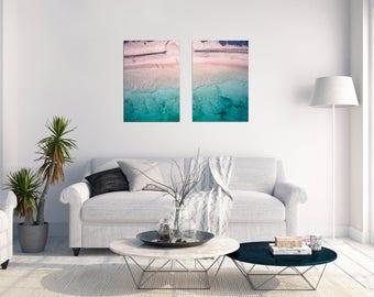 Beach Photo // Beach Printable art // Art Print // Digital Download Photo // Wall Art // Ocean Photo // Coastal Wall Art