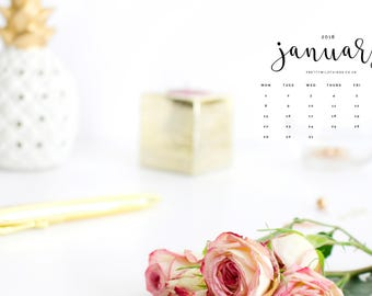 2018 DESKTOP WALLPAPER CALENDAR - Download