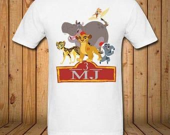 Lion Guard Birthday Shirt