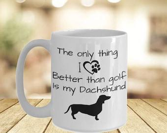 Dachshund Momlife Mug- If You Can Read This Good Vibes Only Mugs His Hers- Dachshund Owner Personal Mugs- Sausage Dog Mama Campfire Mugs
