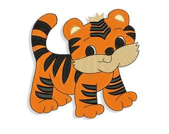 Tiger Embroidery design - Machine embroidery design
