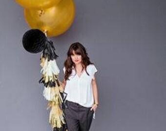 "Jumbo Gold Round Latex Balloon/ 30"" Round Gold Balloon/ Xl Round Gold Balloon"