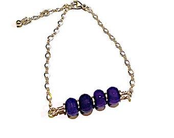 Silver Bracelet with Malaysian Jade